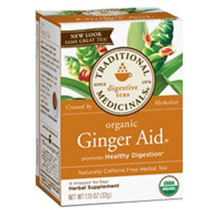 Organic Ginger Aid Tea 16 Bags by Traditional Medicinals Teas (2584019206229)