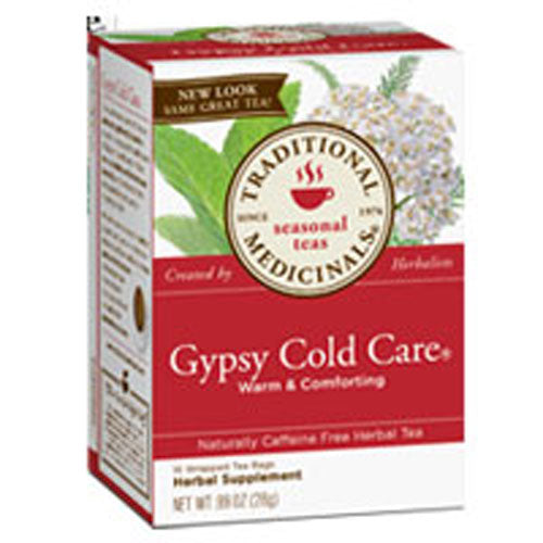 Gypsy Cold Care Tea 16 Bags by Traditional Medicinals Teas