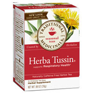 Herba Tussin Tea 16 Bags  by Traditional Medicinals Teas