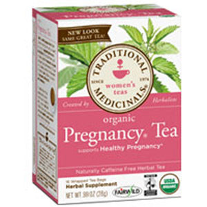 Organic Pregnancy Tea 16 Bags by Traditional Medicinals Teas (2588713123925)