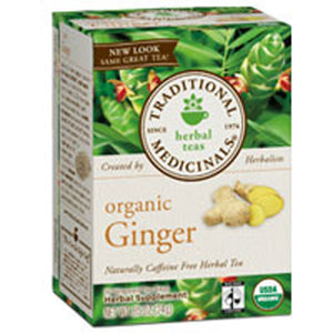 Organic Ginger Tea 16 Bags by Traditional Medicinals Teas (2584117641301)