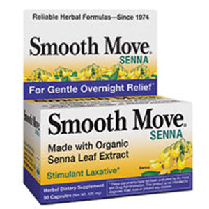 Smooth Move Senna 50 Caps by Trask Nutrition (2588925395029)