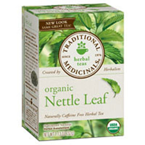 Organic Nettle Leaf Tea 16 Bags by Traditional Medicinals Teas (2588936699989)
