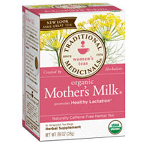Organic Mother's Milk Tea 16 Bags by Traditional Medicinals Teas