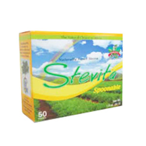 Stevia Spoonable Packets 50pk by Stevita