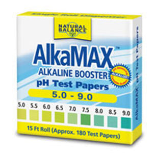 Alkamax pH Papers 1 Each by Natural Balance (Formerly known as Trimedica)  (2588869984341)