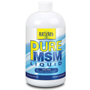 MSM Liquid LIQUID, 16 Oz by Natural Balance (Formerly known as Trimedica)