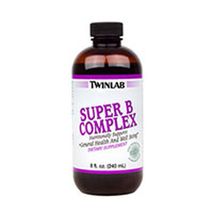 Super B Complex Herbal Liquid 8 FL Oz by Twinlab