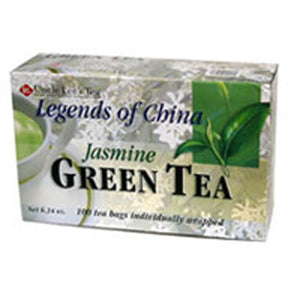 Legends Of China Green Tea Jasmine, 100 Bag by Uncle Lees Teas (2584108662869)