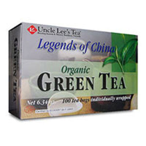Organic Green Tea 100 Bags by Uncle Lees Teas (2584133501013)