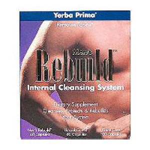 Men's Rebuild Cleansing Program 3 PC by Yerba Prima