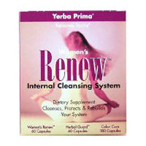 Women's Renew Internal Cleansing Program 3 PC by Yerba Prima