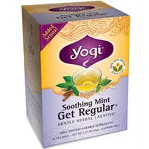 Yogi Tea- Soothing Mint Get Regular 16 Bags by Yogi