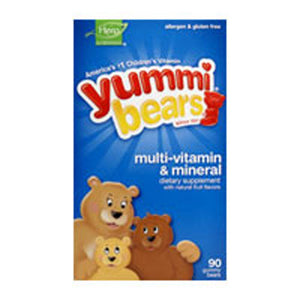 Yummi Bears Multi-Vitamin & Mineral 90 Bears by Yummi Bears (Hero Nutritional Products) (2584022646869)