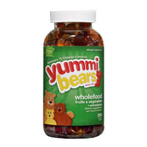 Yummi Bears Whole Food Value Size 200 Bears by Yummi Bears (Hero Nutritional Products) (2584060756053)