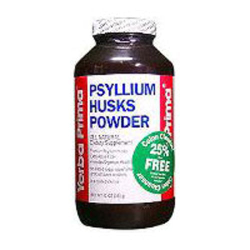 Psyllium Husks Powder 12 Oz by Yerba Prima
