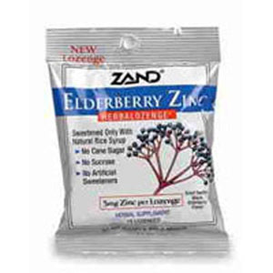Herbalozenge Elderberry Zinc 15 Lozenges by Zand (2584060788821)