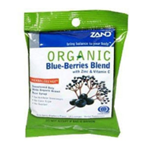 Herbalozenge Organic Blue Berries 18 Loz by Zand (2588937191509)