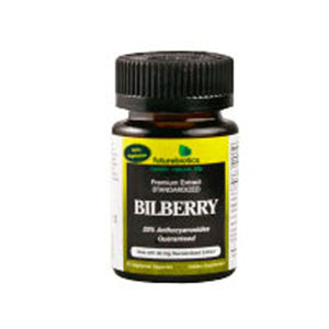 Bilberry Complex with Standardized Extract 60 Caps by Futurebiotics (2588676030549)