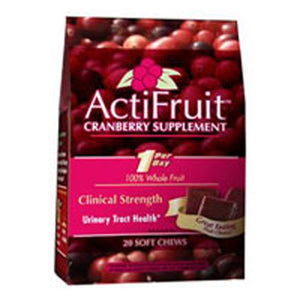 ActiFruit Cran-Max 20 soft chews by Enzymatic Therapy