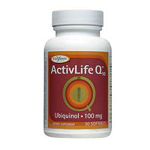 Activ-life Q 10 (UBQH) 30 soft gels by Enzymatic Therapy (2584242258005)