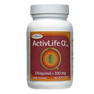 Activ-life Q 10 (UBQH) 60 soft gels by Enzymatic Therapy (2584242290773)
