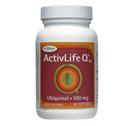 Activ-life Q 10 (UBQH) 60 soft gels by Enzymatic Therapy