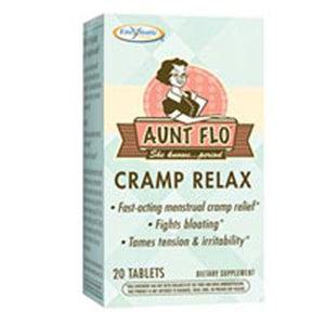 Aunt Flo Cramp Relax 20 Tabs by Enzymatic Therapy