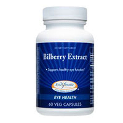 Bilberry Extract 60 Caps by Enzymatic Therapy