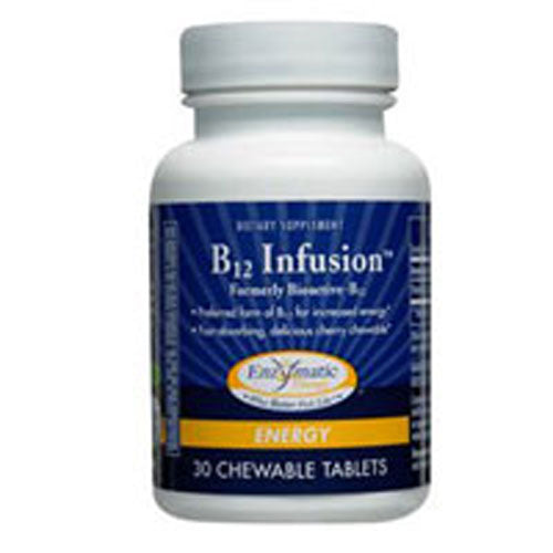 B12 Infusion 30 Tabs by Enzymatic Therapy