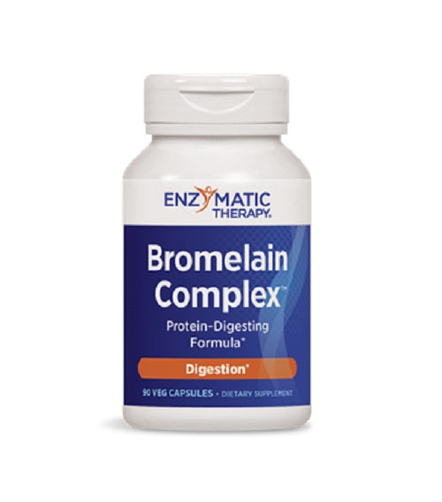 Bromelain Complex 90 Caps by Enzymatic Therapy