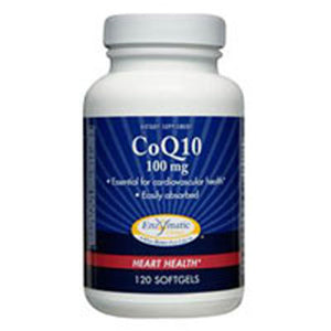 CoQ10 60 Softgel by Enzymatic Therapy