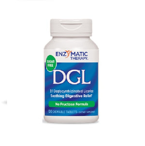 DGL 100 Chew Tabs(Fructose-Free) by Enzymatic Therapy (2584033198165)