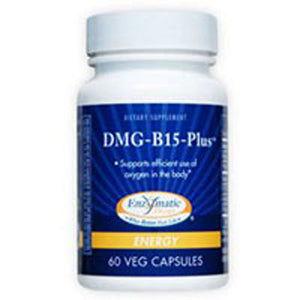 DMG-B15-Plus 60 Caps by Enzymatic Therapy (2583967301717)