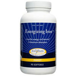 Energizing Iron 90 Softgel by Enzymatic Therapy
