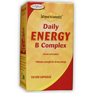 Fatigued To Fantastic Daily Energy B Complex 120 Ultracaps by Enzymatic Therapy