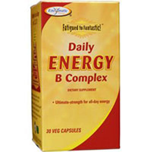 Fatigued To Fantastic Daily Energy B Complex 30 Caps by Enzymatic Therapy