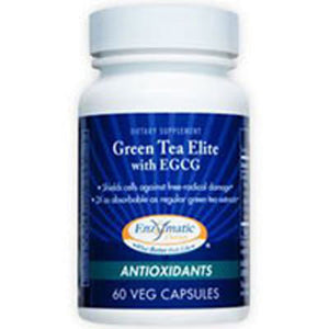Green Tea Elite with EGCG 60 Caps by Enzymatic Therapy