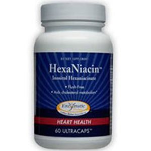 HexaNiacin 60 Caps by Enzymatic Therapy (2584024285269)