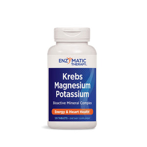 Krebs Magnesium-Potassium 120 Tabs by Enzymatic Therapy (2583964188757)