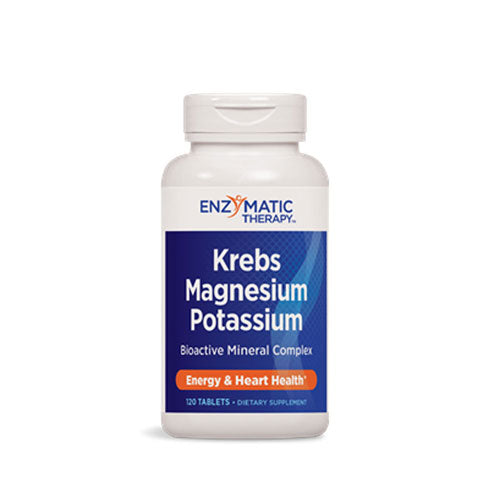 Krebs Magnesium-Potassium 120 Tabs by Enzymatic Therapy
