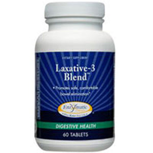 Laxative 3 Blend 60 Tabs by Enzymatic Therapy