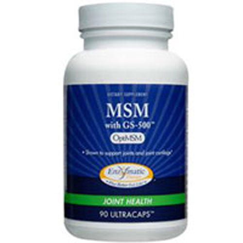 MSM with GS-500 180 Caps by Enzymatic Therapy