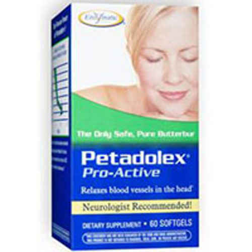 Petadolex Pro-Active 60 Softgel by Enzymatic Therapy