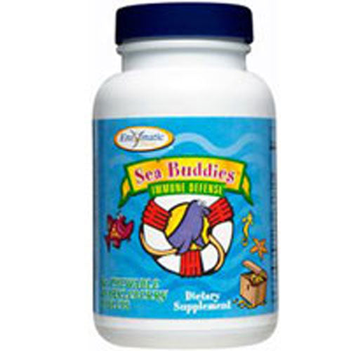 Sea Buddies Immune Defense 60 Tabs by Enzymatic Therapy