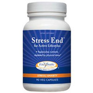 Stress-End 90 Caps by Enzymatic Therapy (2583967432789)