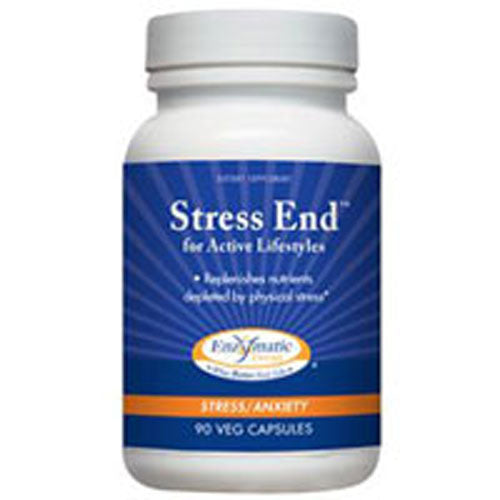 Stress-End 90 Caps by Enzymatic Therapy
