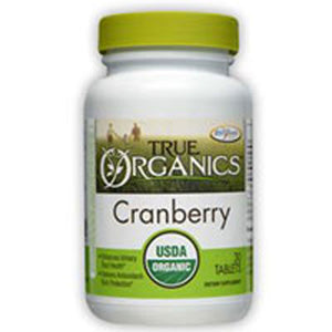True Organic Cranberry 30 Tabs by Enzymatic Therapy