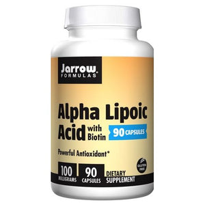Alpha Lipoic Acid 60 Tabs by Jarrow Formulas