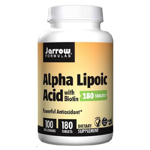 Alpha Lipoic Acid 180 Tabs by Jarrow Formulas